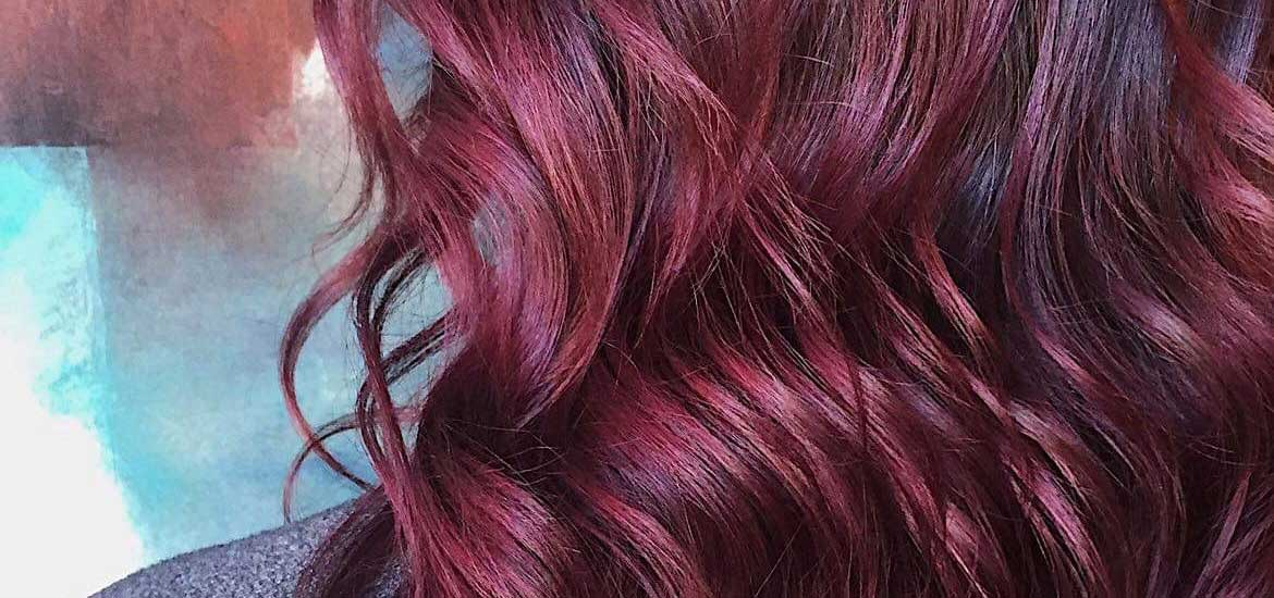 Red Ombre Styled