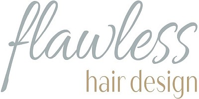 Flawless Hair Design Logo